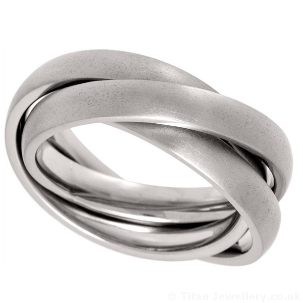brushed russian wedding ring - Russian Wedding Ring