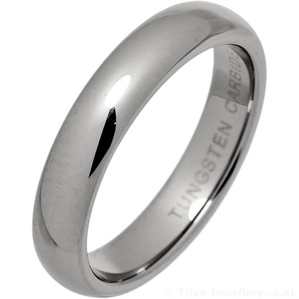 Tungsten Carbide Court Ring