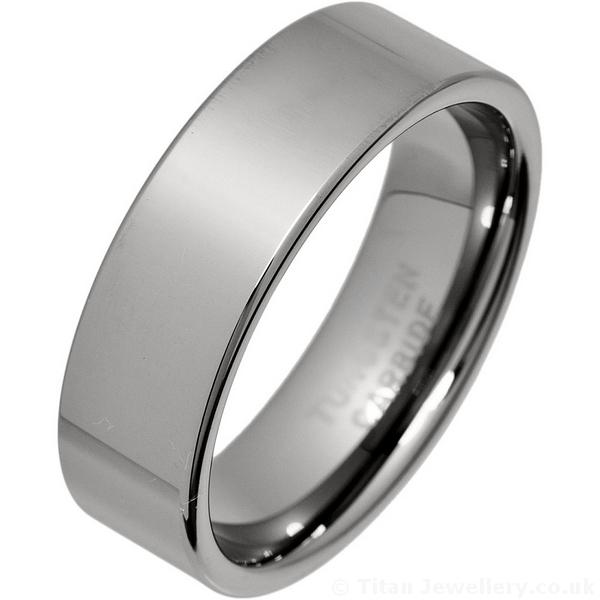 Mens Tungsten Wedding Rings ...