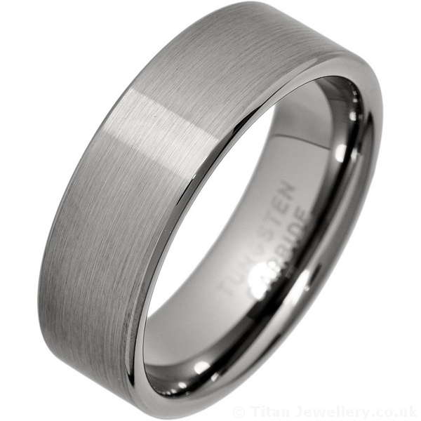 wedding tungsten ring carbide imitated gold mens bands plated dp inlay jewelry comfort meteorite fit band rings