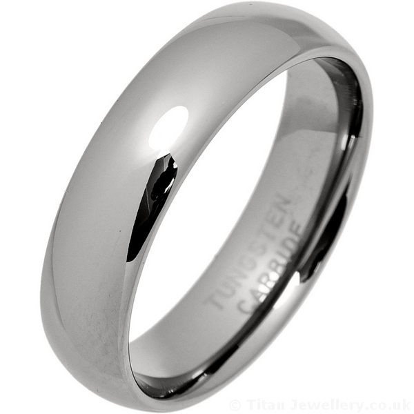 men 39 s 6mm classic court tungsten carbide wedding ring. Black Bedroom Furniture Sets. Home Design Ideas