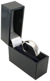 Slim Titanium Ring Box