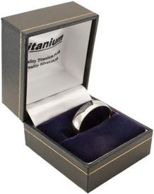Titanium Wide Ring Box