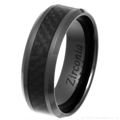 carbon fiber ring men